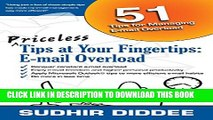 New Book Priceless Tips at Your Fingertips: E-mail Overload (Priceless Computer Tips at Your