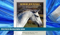 Popular Book Horse Journal Guide to Equine Supplements and Nutraceuticals
