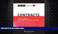read here  Casenotes Legal Briefs: Contracts Keyed to Crandall   Whaley, Sixth Edition (Casenote
