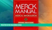 Big Deals  The Merck Manual of Medical Information: Home Edition (Merck Manual Home Health