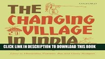 [PDF] The Changing Village in India: Insights from Longitudinal Research Popular Online