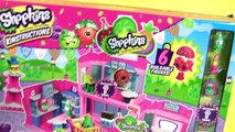 Shopkins Blocks Welcome to Shopville Town Center - Works with Lego Blocks by Disney Toys Collector