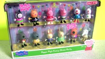 TOYS SURPRISES Pokemon NUM NOMS Frozen Peppa Pig Dress Party 12 Pack Pig George Playground Fun Slide