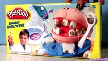 Dentist Play Doh Doctor Drill n Fill Rotten Teeth Pixar Cars Doctor Mater Dough El Dentista Bromista
