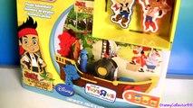 Play Doh Pirate Adventure Ship Disney Jake and the NeverLand Pirates Playdough Aventura Pirata