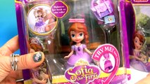 Sofia the First Spin Wheel Dolls Teapot Party & Sofia Backpack balancing a book Talking Dolls