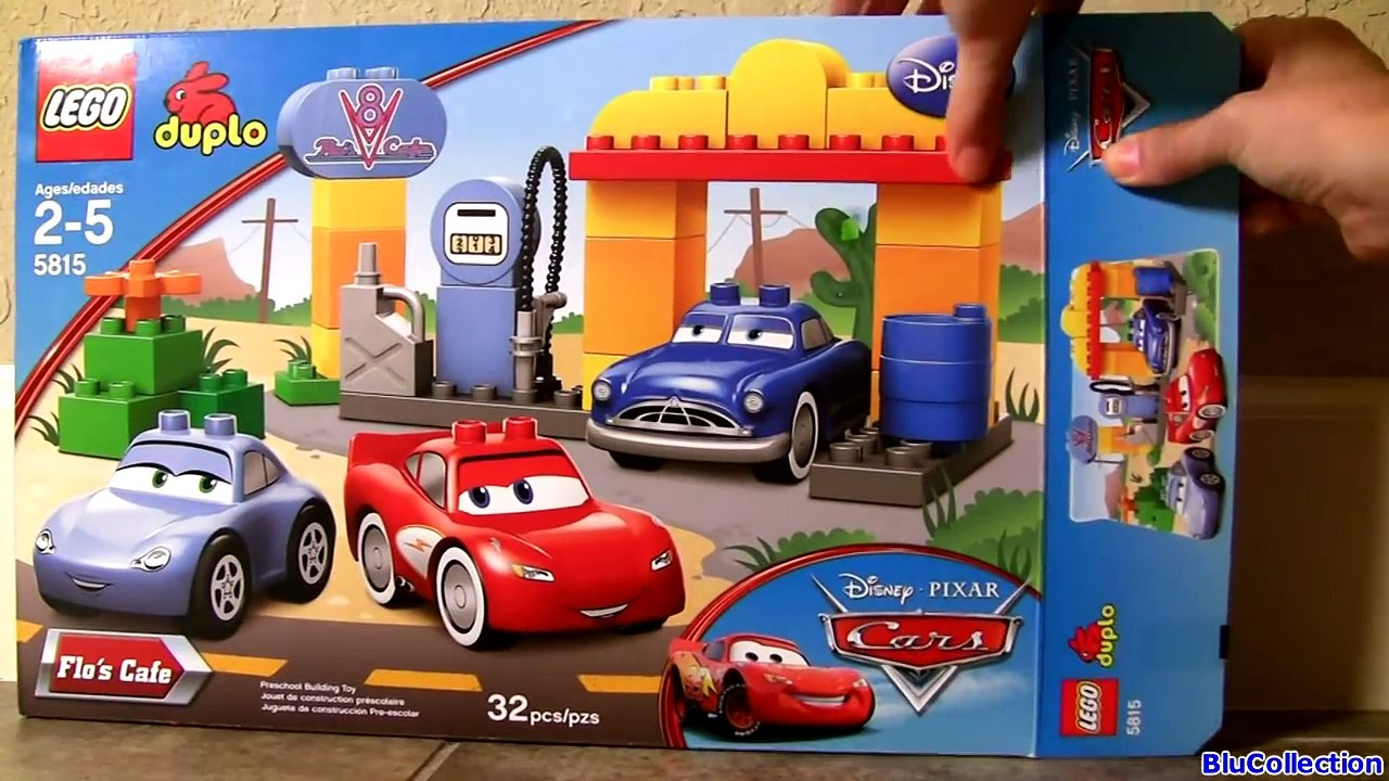 Lego Duplo Cars Flos V8 Cafe 5815 Pocoyo Visits Radiator Springs Disneypixarcars Doc Hudson Video Dailymotion