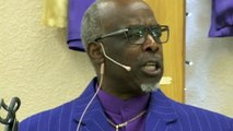 "Pastor Willie McClain  Sunday Services at ""Holy Temple Evangelistic Center"" on Seattle Community Media TV  by Janet"