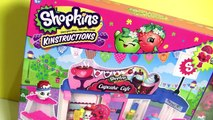 Shopkins Cupcake Cafe Blocks Works with Lego Blocks & Surprise Eggs Toys by Disney Collector