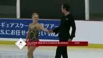 Julianne Séguin / Charlie Bilodeau 2016 Skate Canada Autumn Classic International - SP