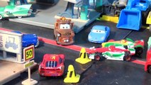 Pixar Cars Hydro Wheels Lightning McQueen , Mater, Red and Mack and the Pool