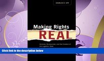 FAVORITE BOOK  Making Rights Real: Activists, Bureaucrats, and the Creation of the Legalistic