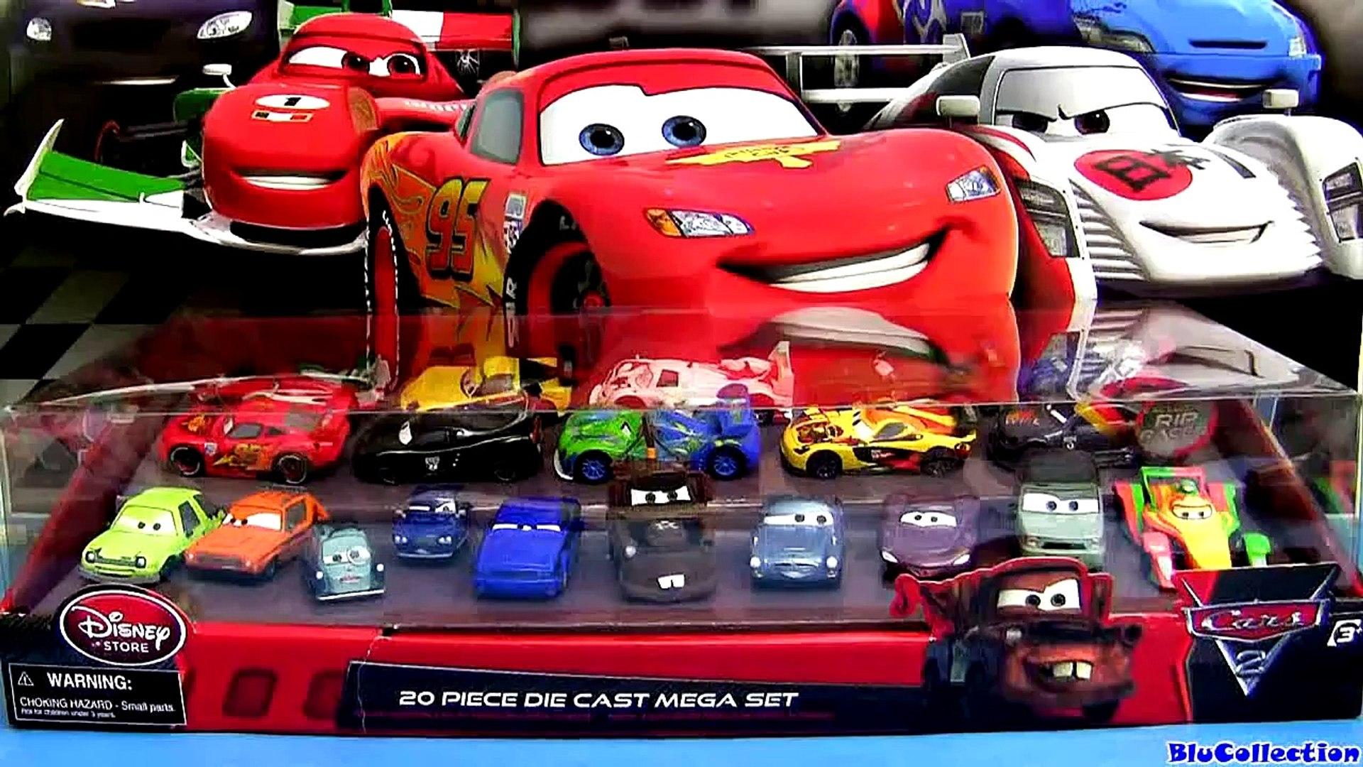 20 Carrinhos Do Filme Disney Pixar Carros 2 Brinquedos Lojas