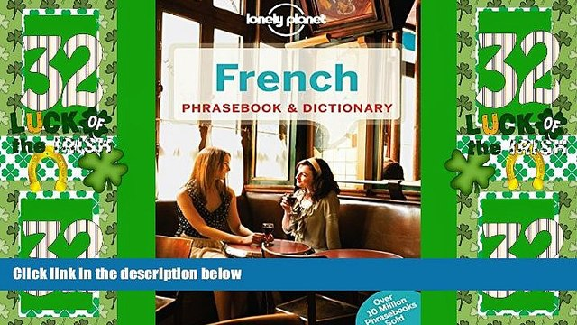 Big Deals  Lonely Planet French Phrasebook   Dictionary (Lonely Planet Phrasebook and Dictionary)