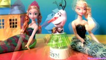 Play Doh Olaf The Snowman Bobblehead Hawaiian Hula Dancing Wobbler Snow Disneyplaydough Frozen Dolls
