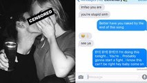Song Lyrics Text Prank on CHEATING EX-Girlfriend Justin Timberlake Cry Me A River (Gone Wrong!!)