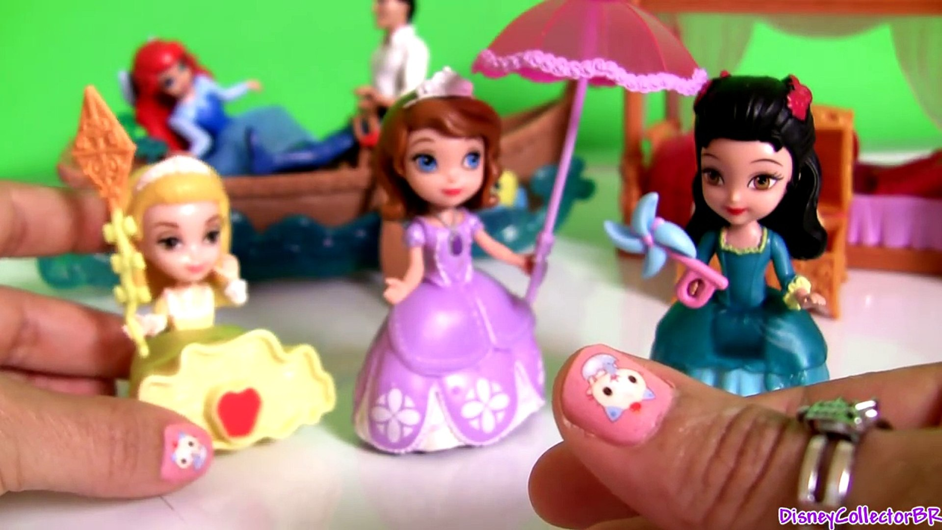 Sofia the First with Friends Set Disney Princess Amber & Hildegard Play Doh Review Disneycollect