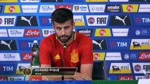 """Espagne - Piqué : """"L'Italie n'a pas un football défensif"""""""