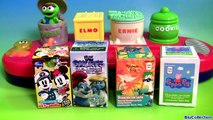 Sesame Street Singing Pop Up Pals Surprise Toys Cookie Monster Singing Elmo Song Awesome Toys