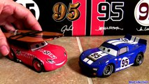 Surfs Up Lightning McQueen 4-pack Artist Series D23 Expo Surf MQGT John Lassetire Aviator Jay Ward