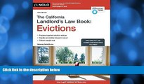 different   California Landlord s Law Book, The: Evictions (California Landlord s Law Book Vol 2