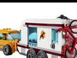 LEGO City La Voiture et sa Caravane Jouet Pour Les Enfants