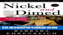 [PDF] Nickel and Dimed: On (Not) Getting By in America Full Colection