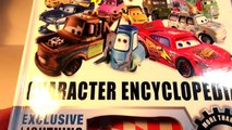 Pixar Cars RED from the Disney Pixar Cars Character Encyclopedia with HydroWheels Red and GIANT RED