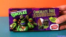TMNT Surprise Eggs Teenage Mutant Ninja Turtles Huevos Sorpresa same as Kinder egg Las Tortugas