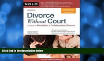 read here  Divorce Without Court: A Guide to Mediation   Collaborative Divorce
