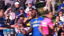 NRL 2014 Round 21 Highlights- Sharks Vs Eels