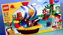 LEGO Duplo Captain Hook Meets Pirate Mater in Bucky Ship Jake and the Neverland Pirates CARS 10514