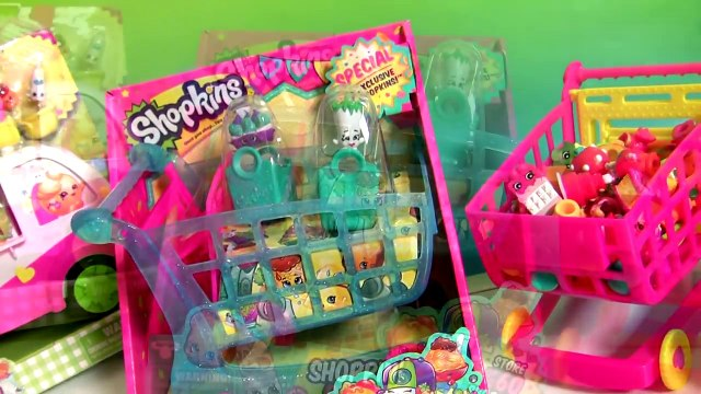 Shopkins Shopping Cart Season 3 Push n Play NEW new with Peppa Pig & Basket Toy Surprise