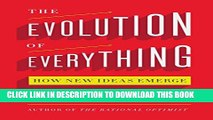 [PDF] The Evolution of Everything: How New Ideas Emerge Popular Online