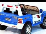 police voitures jouets à monter, jouets voitures de police pour les enfants