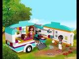 LEGO Friends La Caravane des Vacances, Lego Jouets Pour Les Enfants