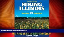 Big Deals  Hiking Illinois - 2nd Edition  Best Seller Books Most Wanted