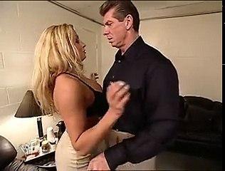 Trish Stratus & Vince McMahon Backstage (2) (2)