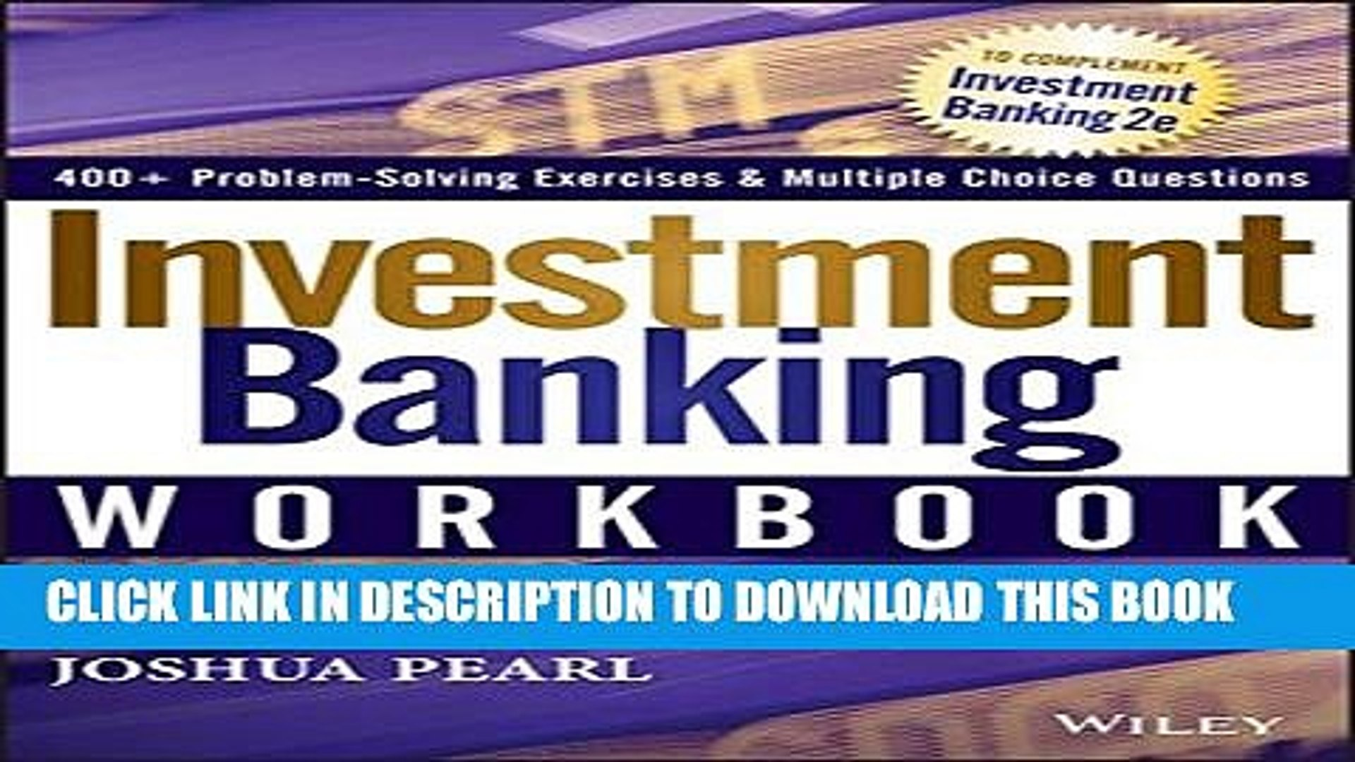 [PDF] Investment Banking Workbook Popular Online