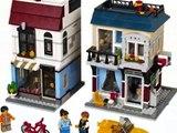 LEGO Creator Le magasin de vélos et le Café, Jouets Pour Les Enfants