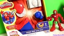 Play Doh Spider-Man Super Tools Playset Marvel Play Dough Spider Web Homem-Aranha | Hombre Araña