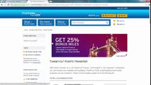 How to Transfer Citi Thank You Points to Travel Partners   Singapore Airlines Frequent Flyer Miles