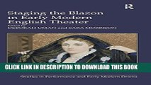 [PDF] Staging the Blazon in Early Modern English Theater (Studies in Performance and Early Modern