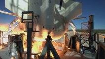 Blue Origin teste le système d'urgence de la capsule du lanceur New Shepard