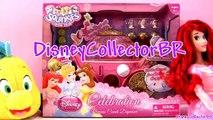 Disney Princess Coach Dispenser Squinkies Celebration from Blip Toys with Cinderella Belle Ariel