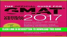 [Read PDF] The Official Guide for GMAT Verbal Review 2017 with Online Question Bank and Exclusive