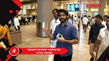 Sonam's Brother Makes Fun Of Her Movies, Karan Johar Makes Last Minute Changes In His Biography