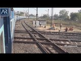 Encounter with Diamond Crossing in India at Nagpur Junction, Maharashtra | AR Entertainments