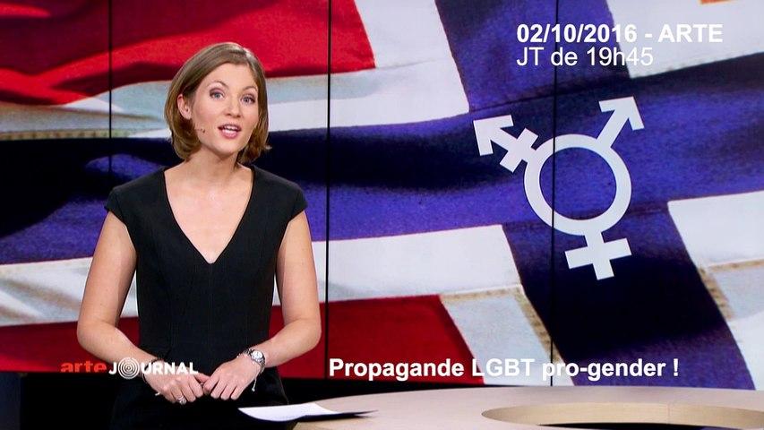 Propagande LGBT pro-gender sur ARTE.