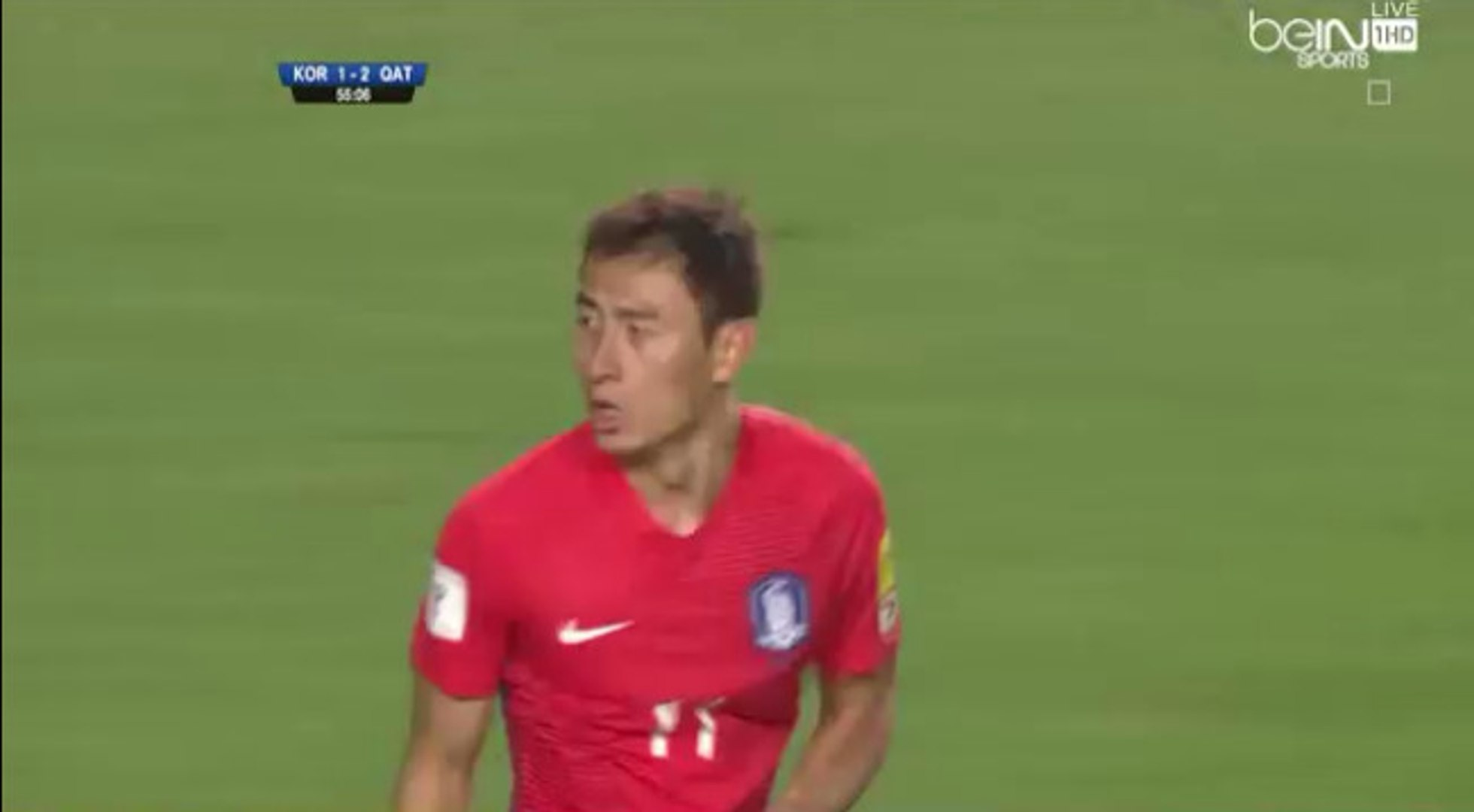 Ji Dong-won Goal - South Korea 2-2 Qatar - (06/10/2016)